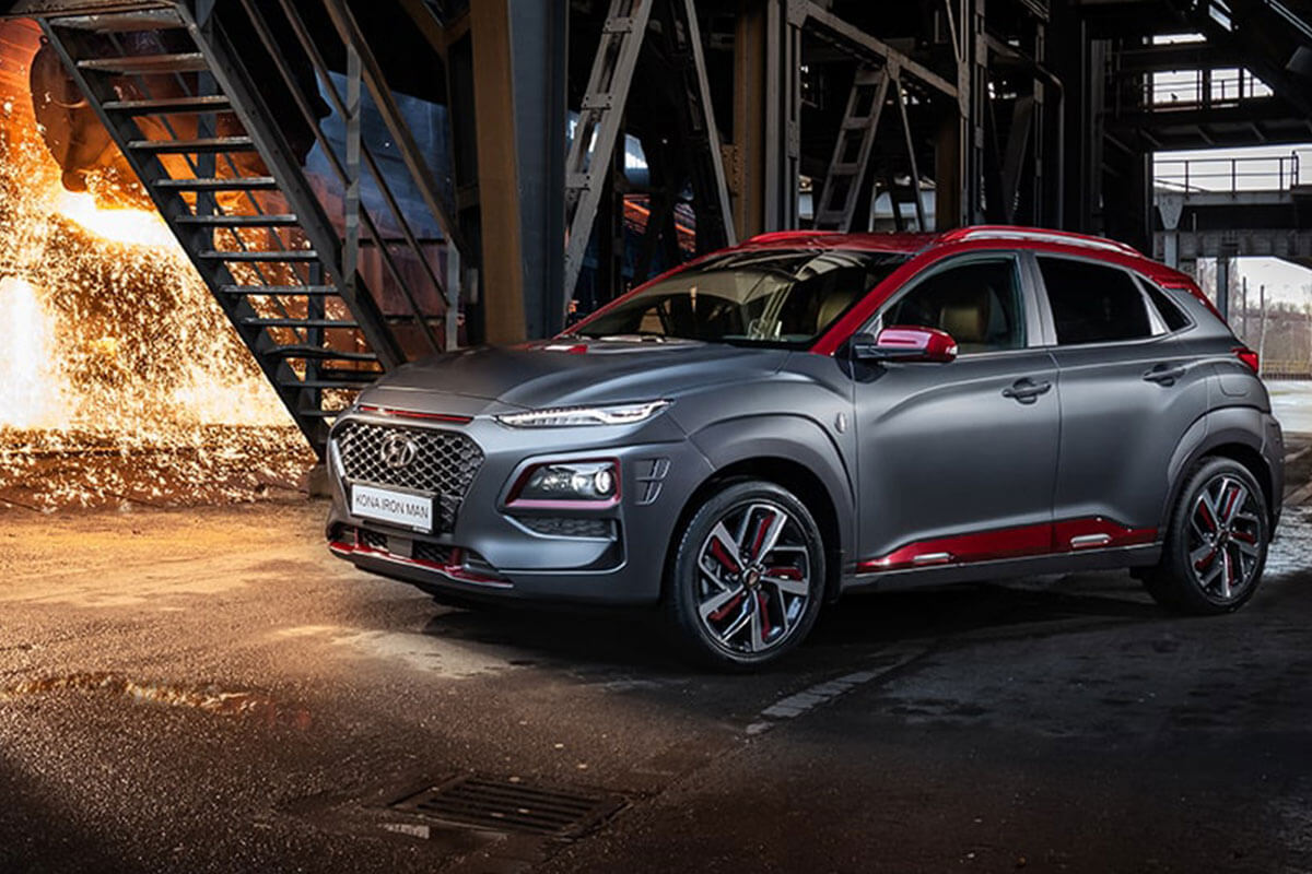 Der Hyundai KONA - Iron Man Edition