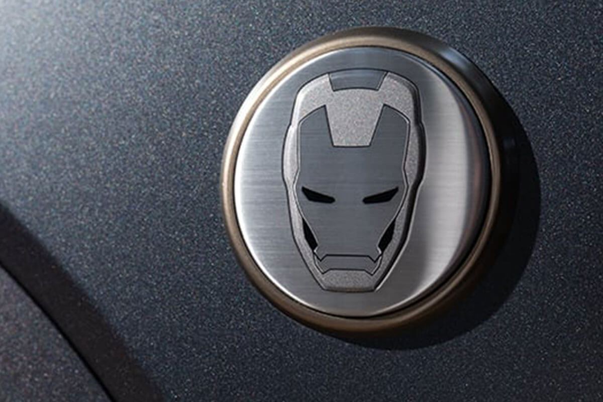 Kona Iron Man Badge